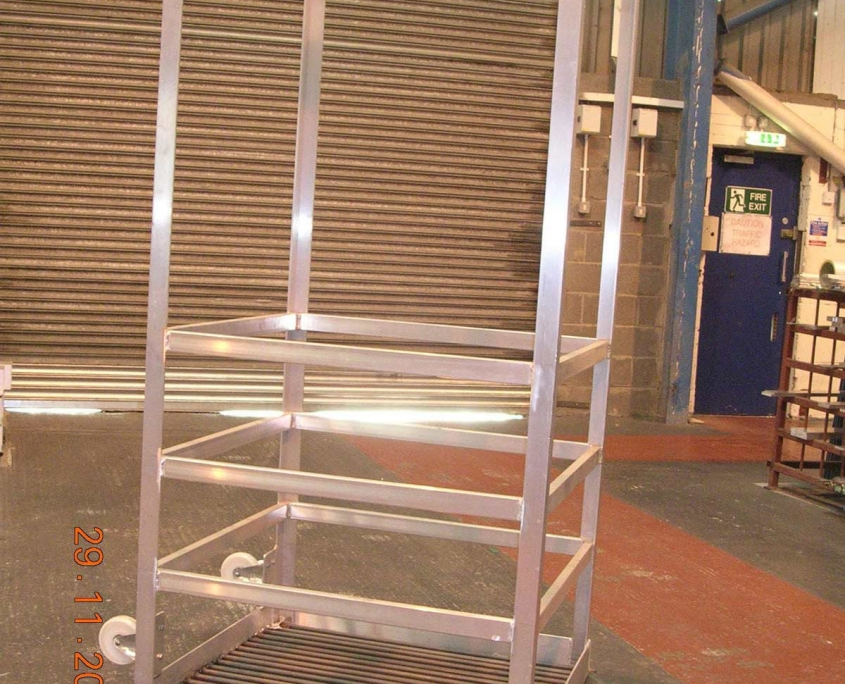 Bespoke Marine Access Gangways Painting Cradle