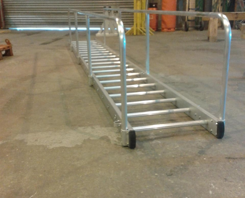 Bespoke Marine Access Gangways Rung Ladder