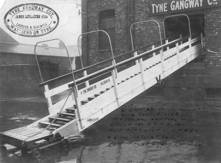 Tyne Gangway 1934 History