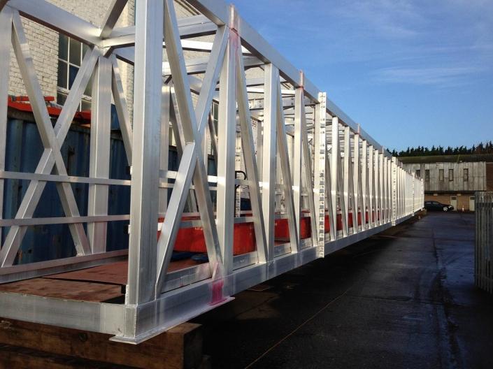 Tyne Gangway Gallery 48m Gangway Under Load Test