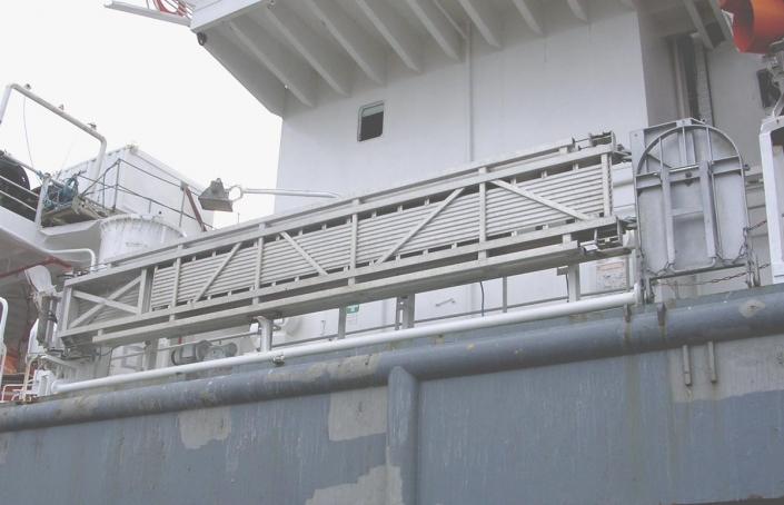 Tyne Gangway Gallery Telescopic Accommodation Ladder