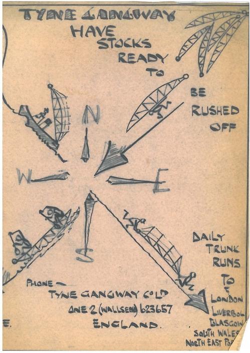Tyne Gangway Historical Advert 4