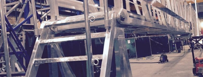 25m Light Weight Telescopic gangway