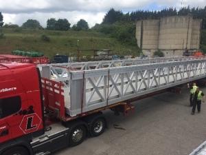 26m aluminium bridge 1