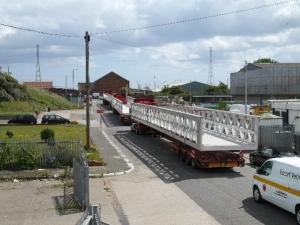 26m aluminium bridge