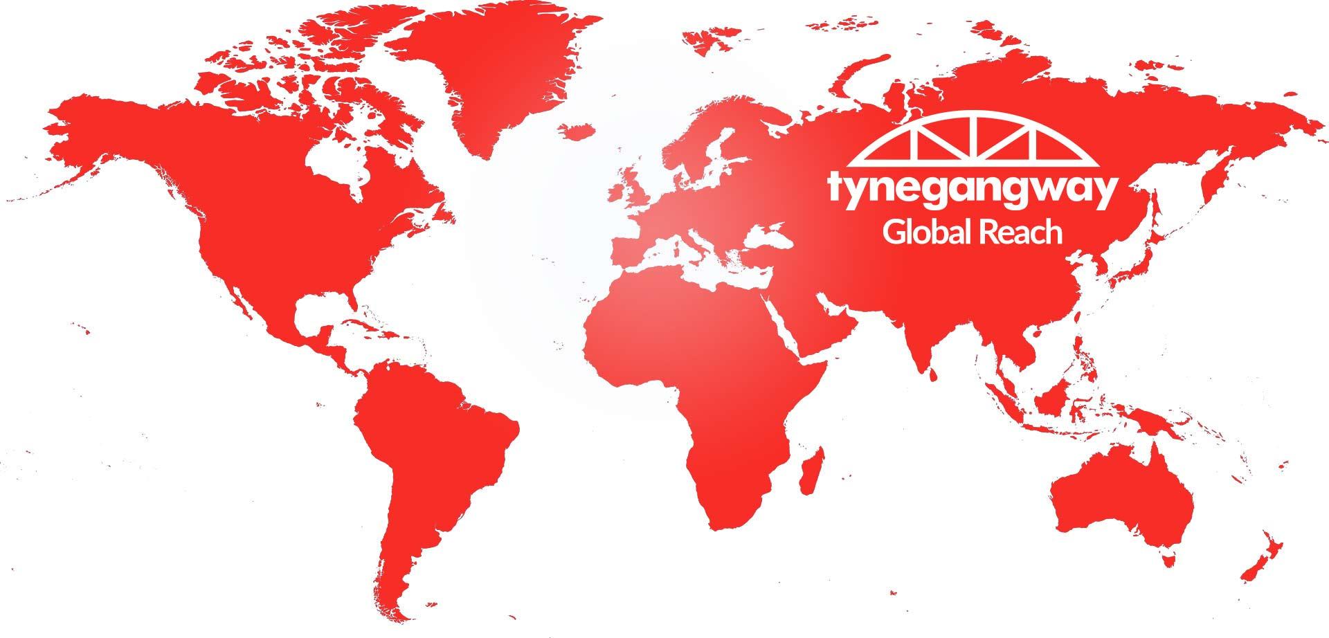 Tyne Gangway World Map
