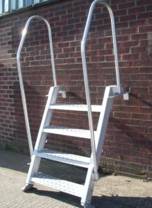 Aluminium SIS7 Bulwark Ladder