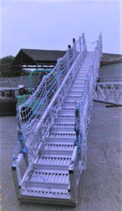 Marine Gangway Safety Nets Rectangular